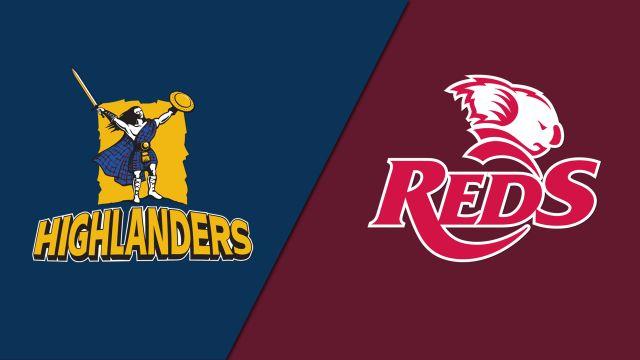 Highlanders vs. Reds (Super Rugby)