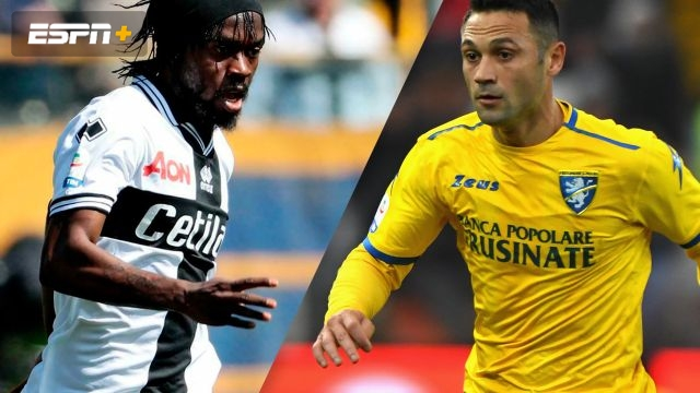 Parma vs. Frosinone (4th Round) (Coppa Italia)