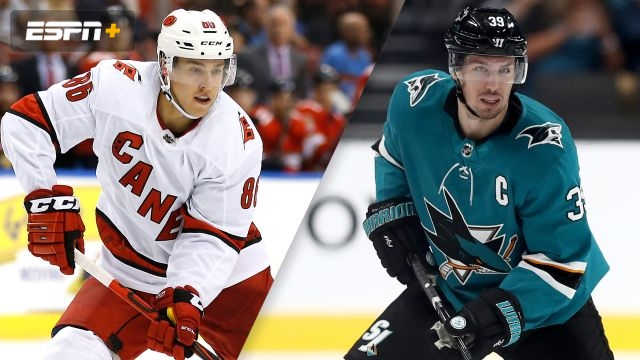 Carolina Hurricanes vs. San Jose Sharks