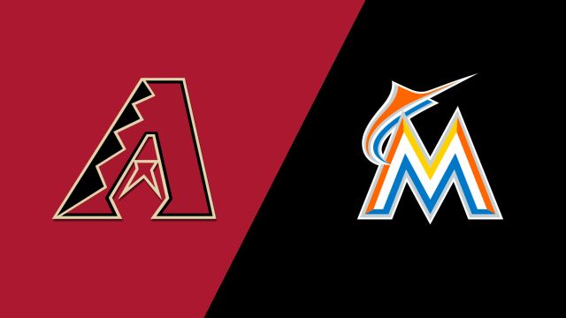 Arizona Diamondbacks vs. Miami Marlins