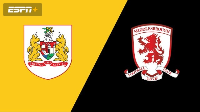 Bristol City vs. Middlesbrough (English League Championship)