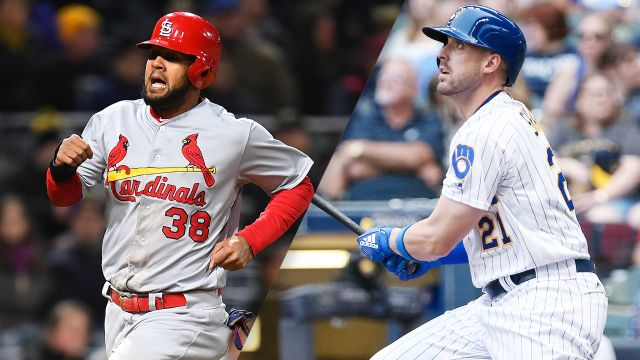 St. Louis Cardinals vs. Milwaukee Brewers
