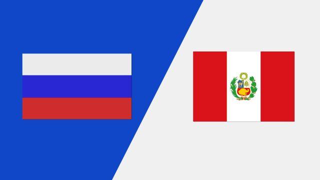 Russia vs. Peru (2018 FIL World Lacrosse Championships)