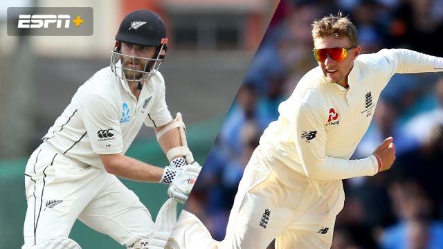 New Zealand vs. England (1st Test - Day 1)