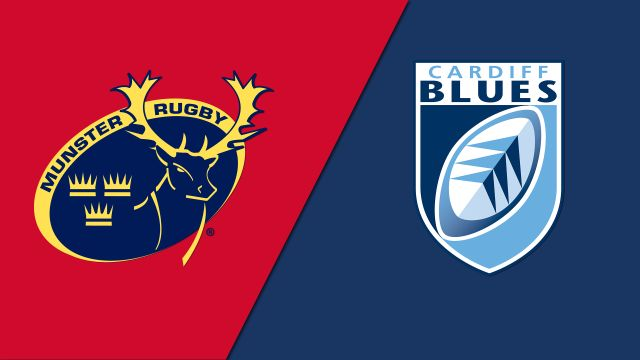 Munster vs. Cardiff Blues (Guinness PRO14 Rugby)