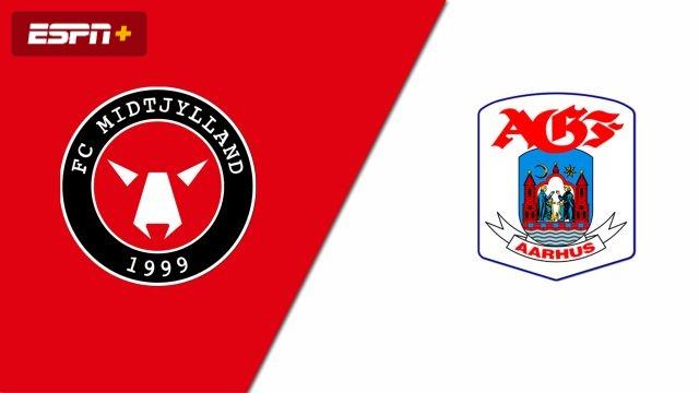 FC Midtylland vs. AGF (Danish Superliga)