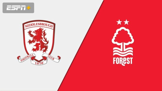 Middlesbrough vs. Nottingham Forest (English League Championship)