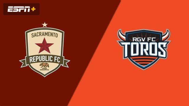 Sacramento Republic FC vs. Rio Grande Valley FC Toros (USL Championship)