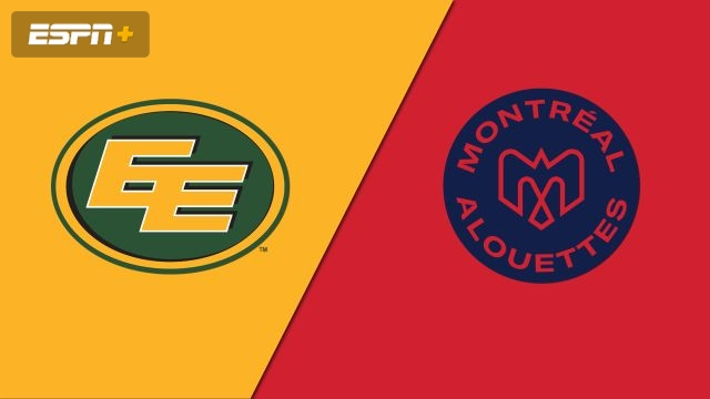 Edmonton Eskimos vs. Montreal Alouettes (Canadian Football League)