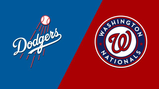 Los Angeles Dodgers vs. Washington Nationals