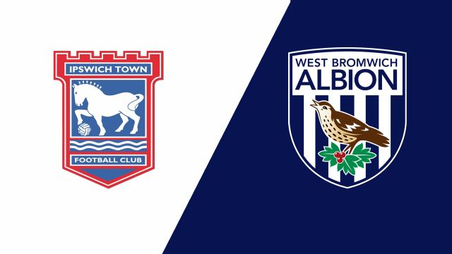 Ipswich Town vs. West Bromwich Albion (English League Championship)
