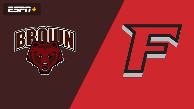 Brown vs. Fairfield (W Basketball)