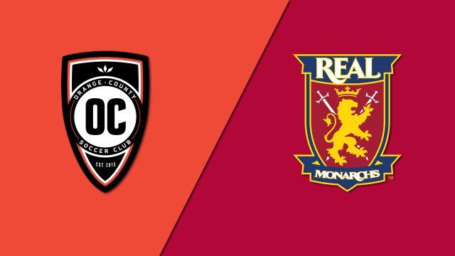 Orange County SC vs. Real Monarchs SLC