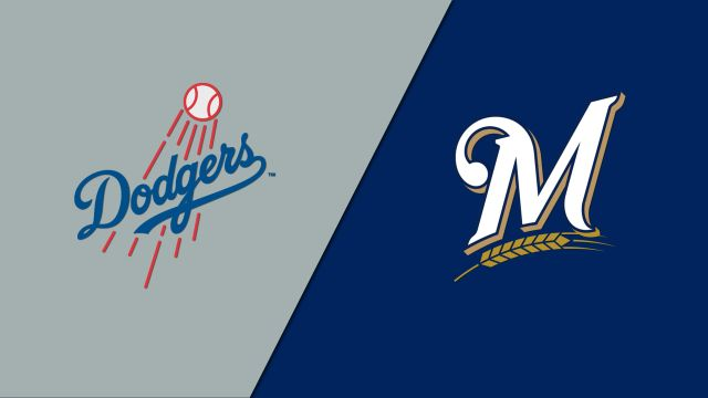 Los Angeles Dodgers vs. Milwaukee Brewers