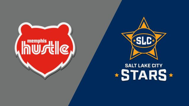 Memphis Hustle vs. Salt Lake City Stars