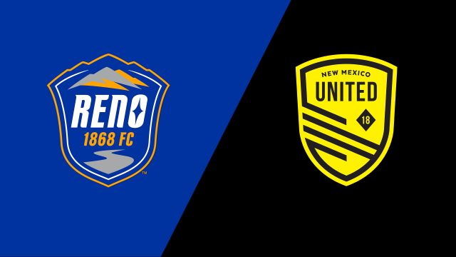 Reno 1868 FC vs. New Mexico United (USL Championship)
