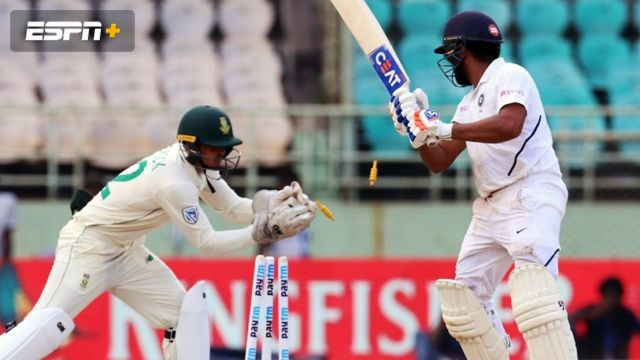 India vs. South Africa (3rd Test - Day 1)