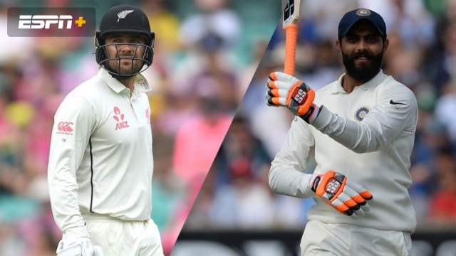 New Zealand vs. India (1st Test - Day 2)