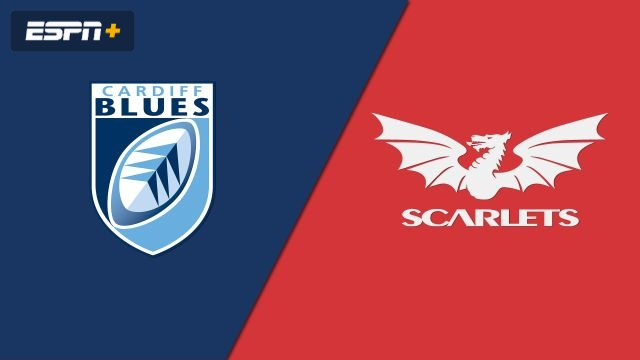 Cardiff Blues vs. Scarlets (Guinness PRO14 Rugby)
