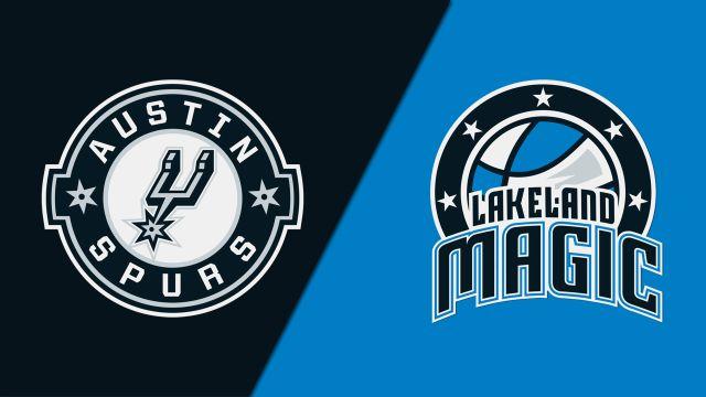 Austin Spurs vs. Lakeland Magic