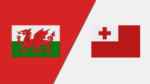 Wales vs. Tonga