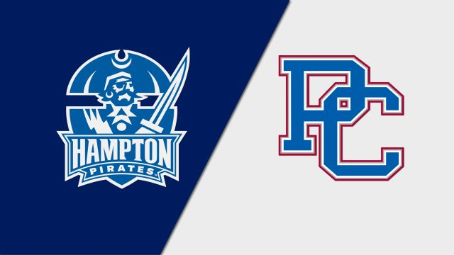 Hampton vs. Presbyterian (M Basketball)