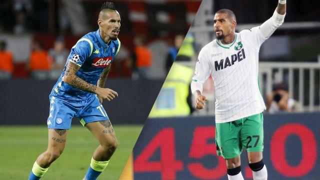 Napoli vs. Sassuolo (Serie A)