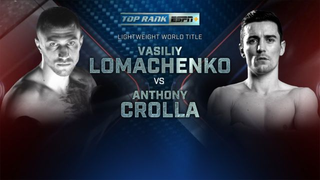 Top Rank Boxing on ESPN: Lomachenko vs. TBD Weigh-In