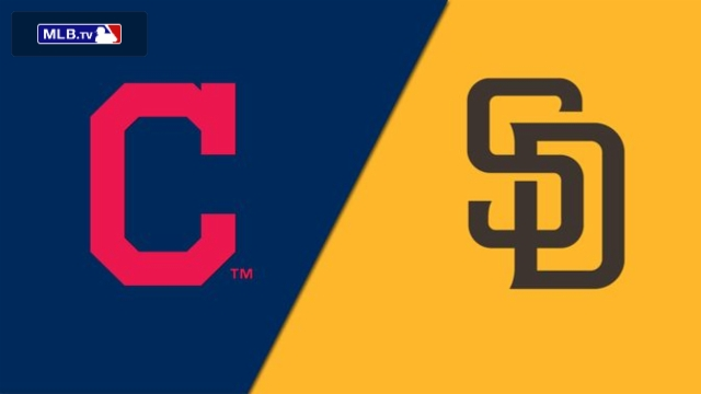 Cleveland Indians vs. San Diego Padres
