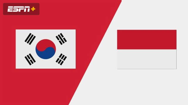 South Korea vs. Indonesia