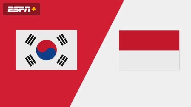 South Korea vs. Indonesia