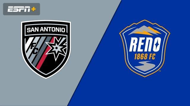 San Antonio FC vs  Reno 1868 FC (USL Championship) - WatchESPN