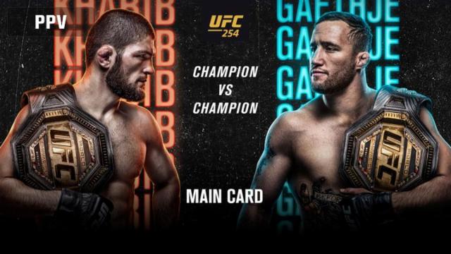 UFC 254 free sports betting picks.