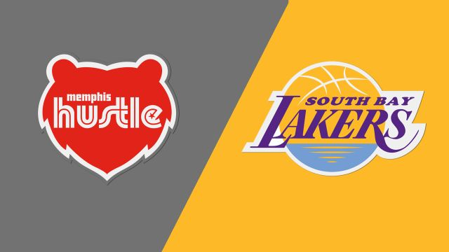 Memphis Hustle vs. South Bay Lakers