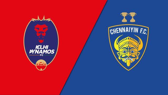 Delhi Dynamos FC vs. Chennaiyin FC (Indian Super League)