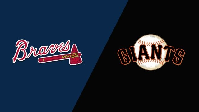 Atlanta Braves vs. San Francisco Giants