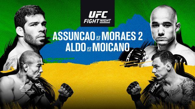 UFC Fight Night: Raphael Assuncao vs. Marlon Moraes (Prelims)