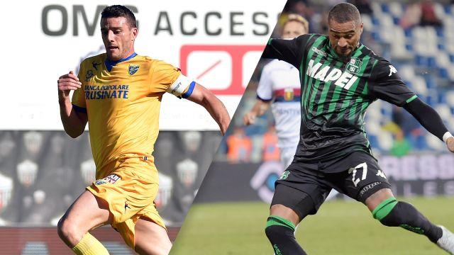 Frosinone vs. Sassuolo (Serie A)
