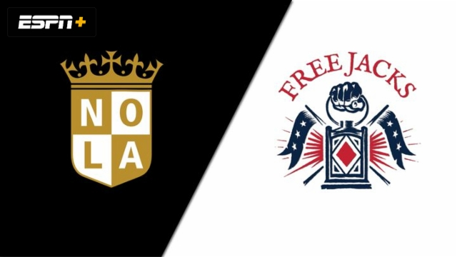 NOLA Gold vs. New England Freejacks