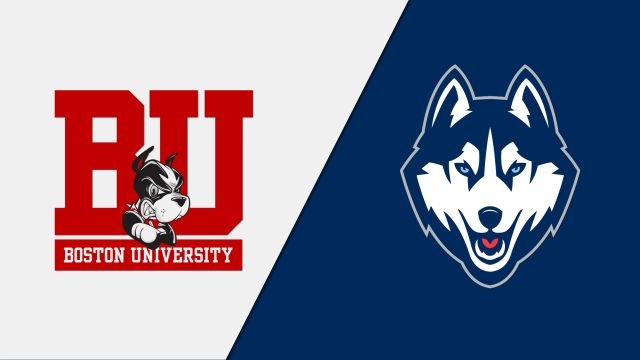 Boston University vs. Connecticut (M Hockey)