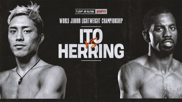 Ito vs. Herring Weigh-In