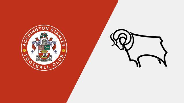 Accrington Stanley vs. Derby County (Round #4) (FA Cup)