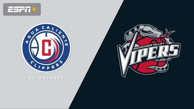 Agua Caliente Clippers vs. Rio Grande Valley Vipers