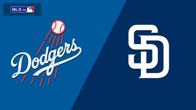 Los Angeles Dodgers vs. San Diego Padres