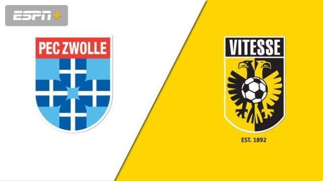 PEC Zwolle vs. Vitesse (Eredivisie)