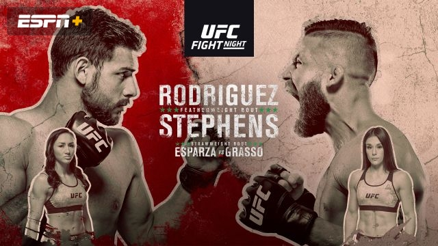 UFC Fight Night: Rodriguez vs. Stephens (Prelims)