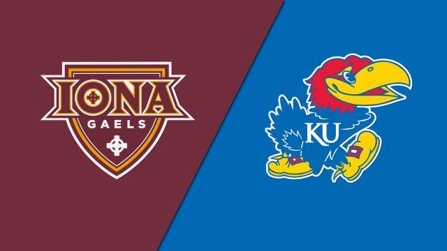 Iona vs. Kansas (W Basketball)