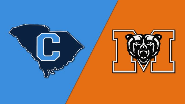 The Citadel vs. Mercer