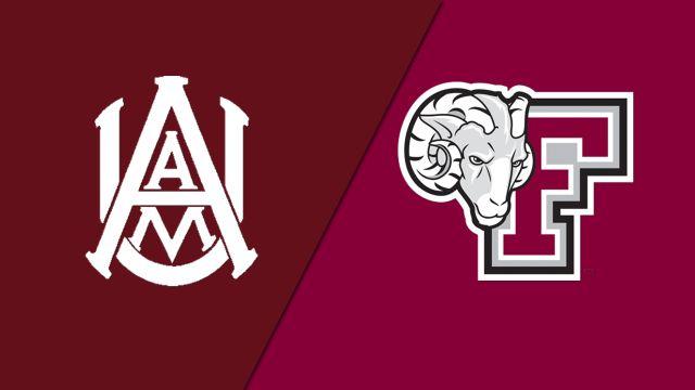 Alabama A&M vs. Fordham (M Basketball)