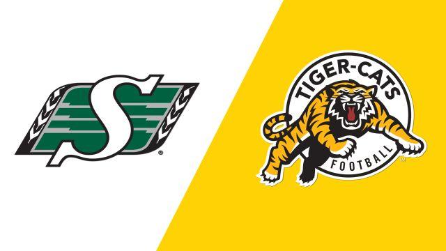Saskatchewan Roughriders vs. Hamilton Tiger-Cats